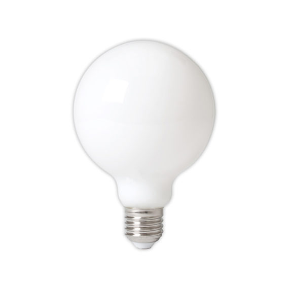 Calex LED 95mm 6W 230V E27 2700K opaal 425468
