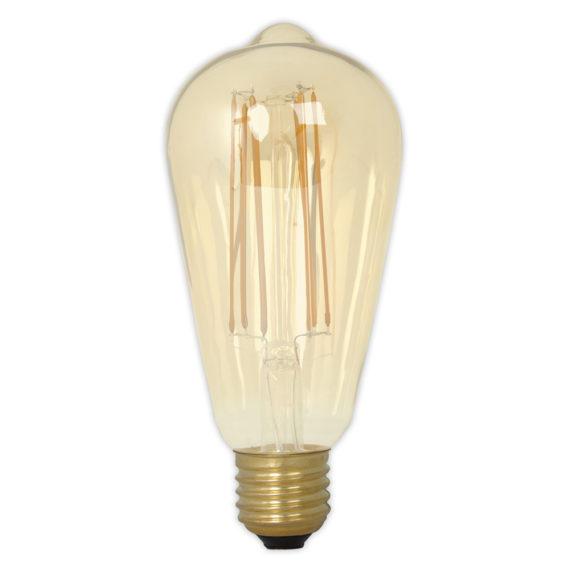 Calex LED Edison 4W 230V E27 2100K Gold 425414