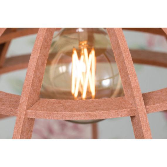 No.19XL hanglamp PET Felt Nude 60cm by Olaf Weller